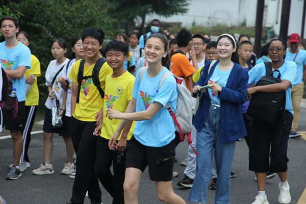"""浙江大学2021年暑期""""中外大学生社会实践周""""活动举行"""