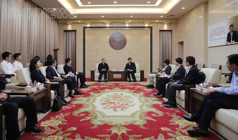 浙江大学与航天科工签署战略合作协议